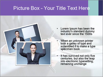 Businessman Making Notes PowerPoint Template - Slide 20