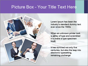 Businessman Making Notes PowerPoint Template - Slide 23