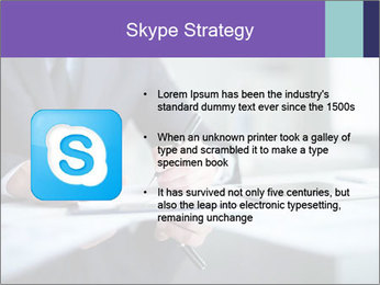 Businessman Making Notes PowerPoint Template - Slide 8
