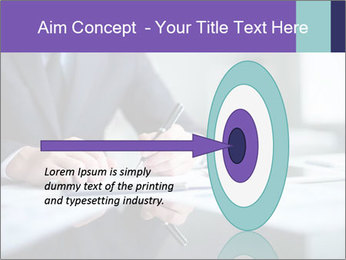 Businessman Making Notes PowerPoint Template - Slide 83