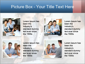 Couple meeting PowerPoint Template - Slide 14
