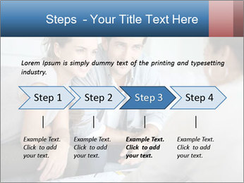 Couple meeting PowerPoint Template - Slide 4