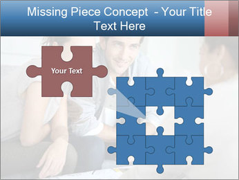 Couple meeting PowerPoint Template - Slide 45