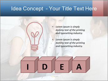 Couple meeting PowerPoint Template - Slide 80
