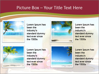 Tropical fresh coconut cocktail PowerPoint Template - Slide 14