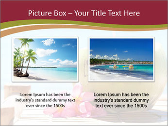 Tropical fresh coconut cocktail PowerPoint Template - Slide 18