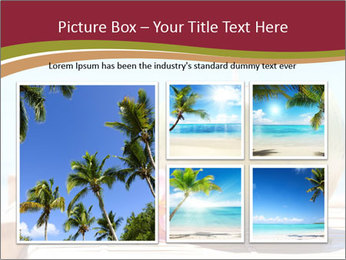 Tropical fresh coconut cocktail PowerPoint Template - Slide 19