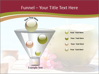 Tropical fresh coconut cocktail PowerPoint Template - Slide 63