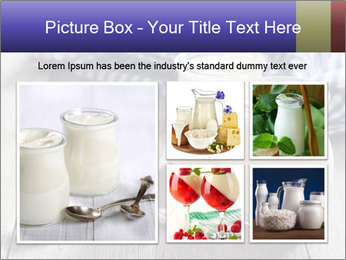 Greek yogurt in a glass PowerPoint Templates - Slide 19