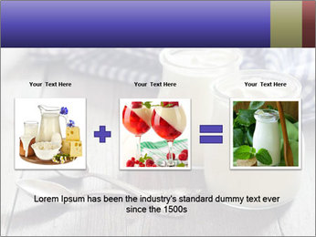 Greek yogurt in a glass PowerPoint Templates - Slide 22