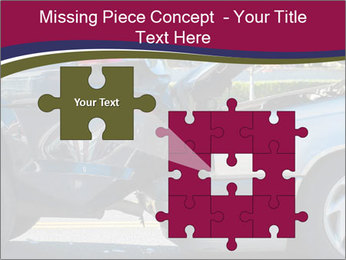 Auto accident involving two cars on a city street PowerPoint Templates - Slide 45