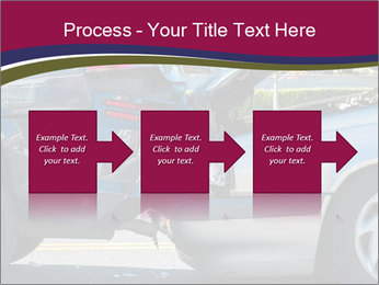 Auto accident involving two cars on a city street PowerPoint Templates - Slide 88
