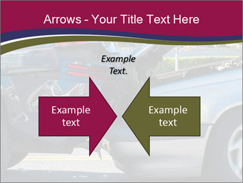 Auto accident involving two cars on a city street PowerPoint Templates - Slide 90
