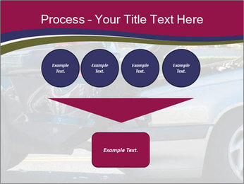 Auto accident involving two cars on a city street PowerPoint Templates - Slide 93