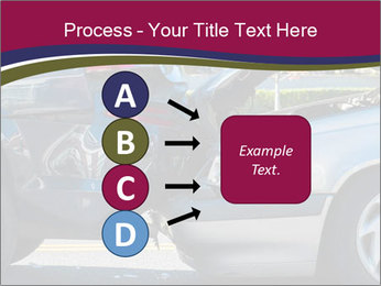 Auto accident involving two cars on a city street PowerPoint Templates - Slide 94