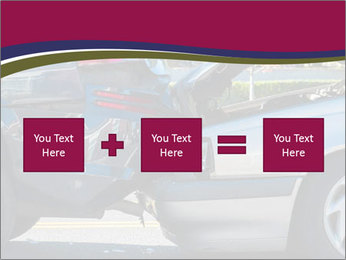 Auto accident involving two cars on a city street PowerPoint Templates - Slide 95