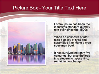 Downtown City PowerPoint Template - Slide 13