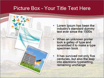Downtown City PowerPoint Template - Slide 17