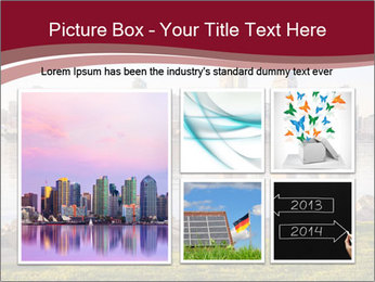 Downtown City PowerPoint Template - Slide 19