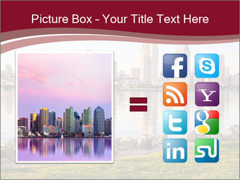 Downtown City PowerPoint Template - Slide 21