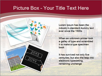 Downtown City PowerPoint Template - Slide 23