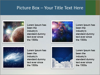 Night Sky And Car PowerPoint Templates - Slide 14