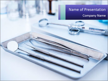 Dental Instruments PowerPoint Template