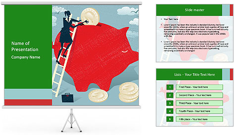 Money Savings PowerPoint Template
