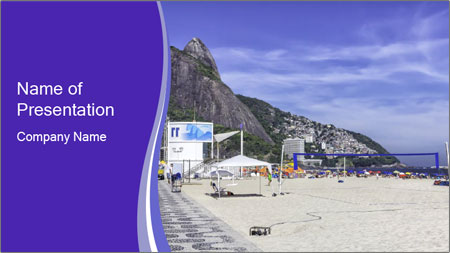 Paradise Beach PowerPoint Template