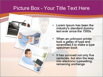 Attractive man PowerPoint Template - Slide 17