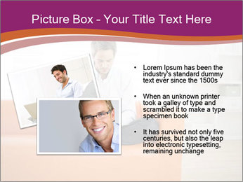 Attractive man PowerPoint Template - Slide 20