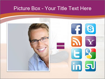 Attractive man PowerPoint Template - Slide 21
