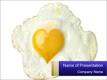 Fried egg PowerPoint Templates - Slide 1