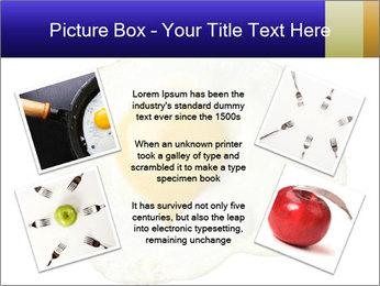 Fried egg PowerPoint Templates - Slide 24