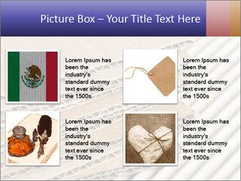 Cardboard pile PowerPoint Template - Slide 14