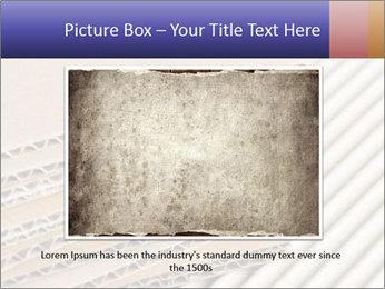Cardboard pile PowerPoint Template - Slide 15