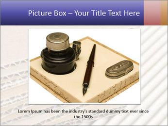 Cardboard pile PowerPoint Template - Slide 16