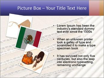 Cardboard pile PowerPoint Template - Slide 17