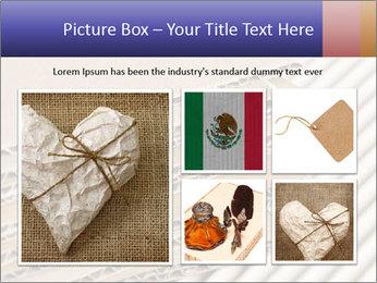 Cardboard pile PowerPoint Template - Slide 19
