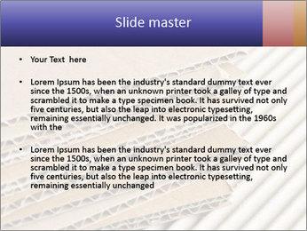 Cardboard pile PowerPoint Template - Slide 2