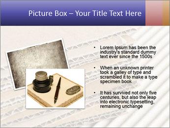 Cardboard pile PowerPoint Template - Slide 20