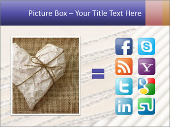 Cardboard pile PowerPoint Template - Slide 21