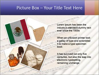Cardboard pile PowerPoint Template - Slide 23