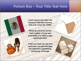 Cardboard pile PowerPoint Template - Slide 24