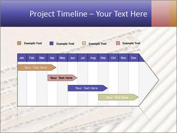 Cardboard pile PowerPoint Template - Slide 25