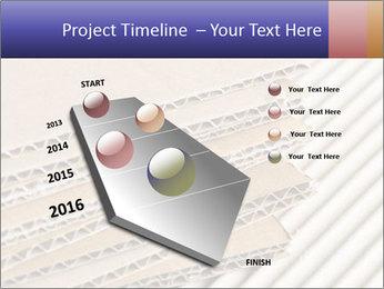 Cardboard pile PowerPoint Template - Slide 26