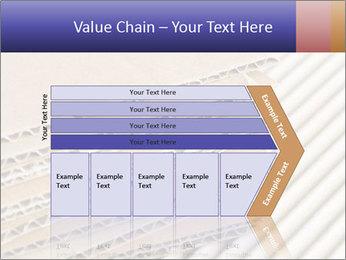 Cardboard pile PowerPoint Template - Slide 27