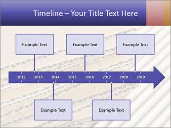 Cardboard pile PowerPoint Template - Slide 28