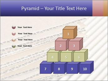Cardboard pile PowerPoint Template - Slide 31