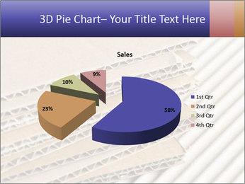 Cardboard pile PowerPoint Template - Slide 35